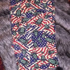 LuLaRoe 4th of July Patriotic Leggings
